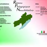 Page d'accueil du portail pédagogique du 21 juin 2000